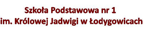 Szkoła Podstawowa nr 1 w Łodygowicach